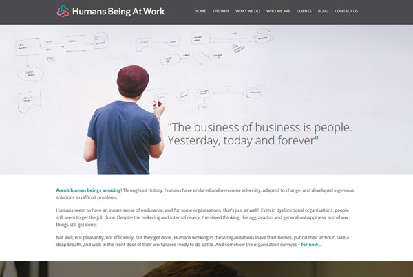 Humans Being At Work