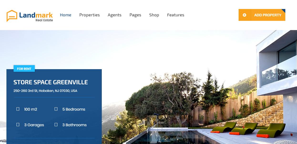 Landmark WordPress Theme