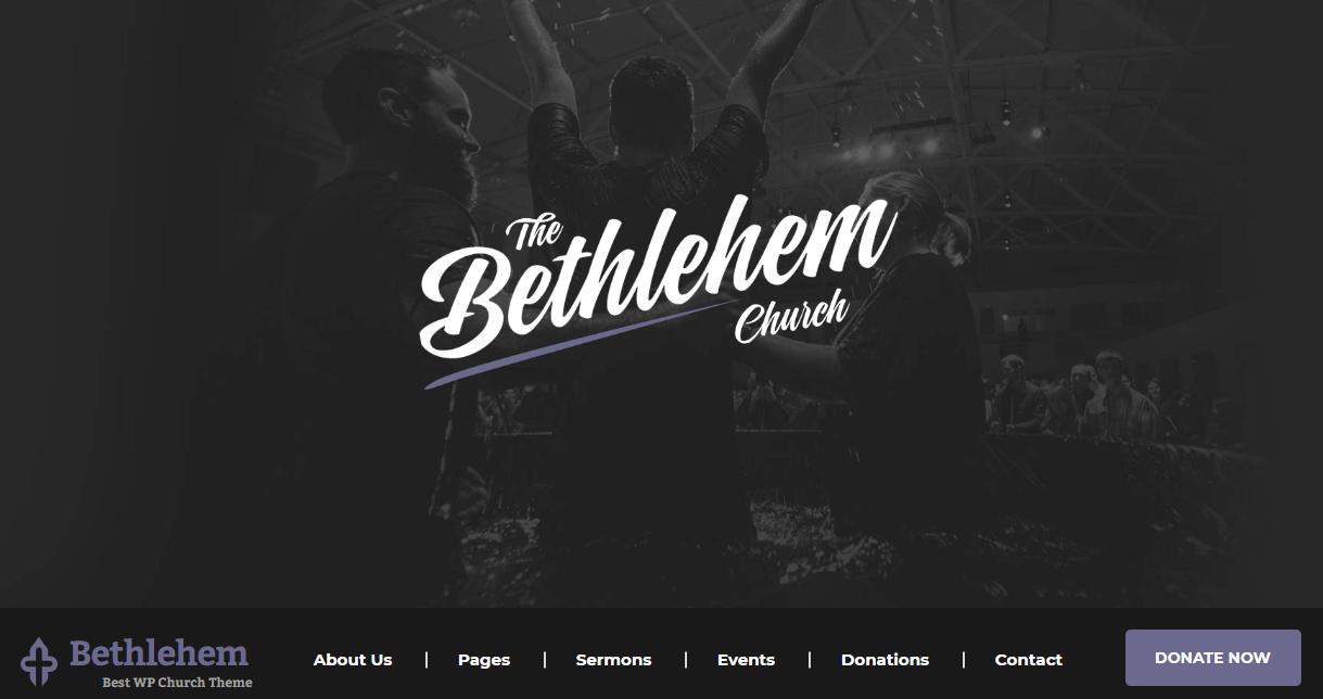Bethlehem WordPress Theme