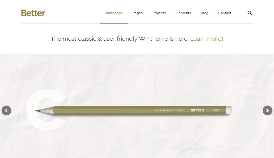 Better WP Theme