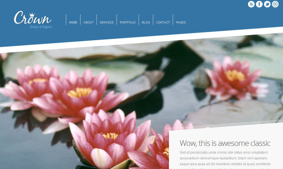 Crown WP Theme