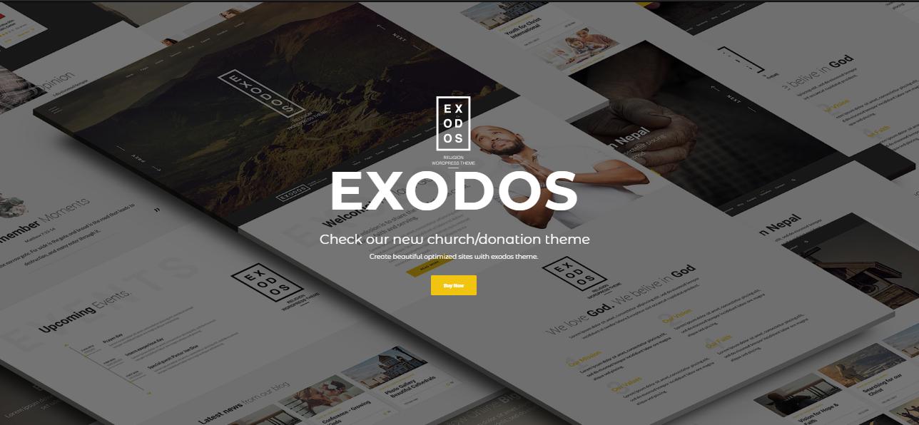 Exodos WordPress Theme