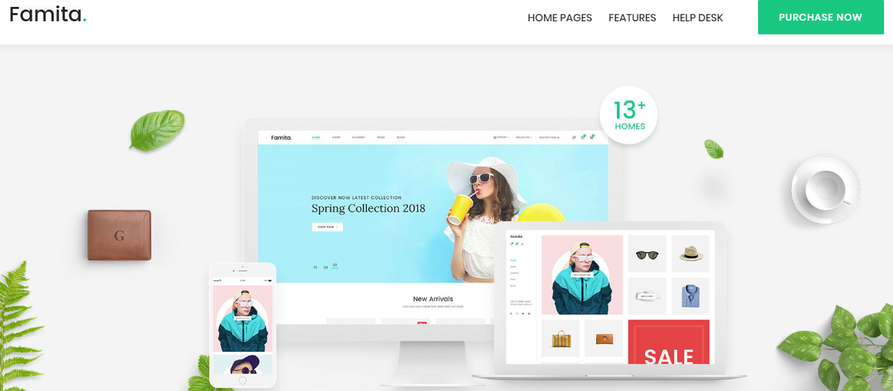 Famita WordPress Theme