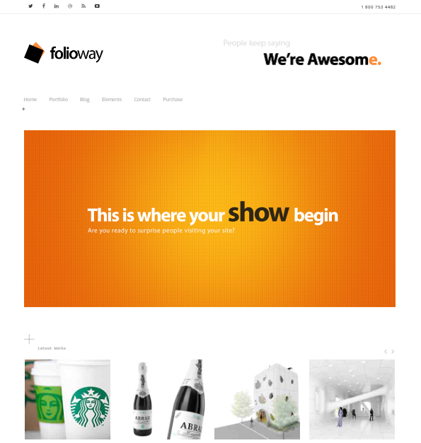 Folioway Portfolio WP Theme