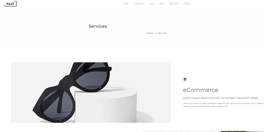 Haat WordPress Theme