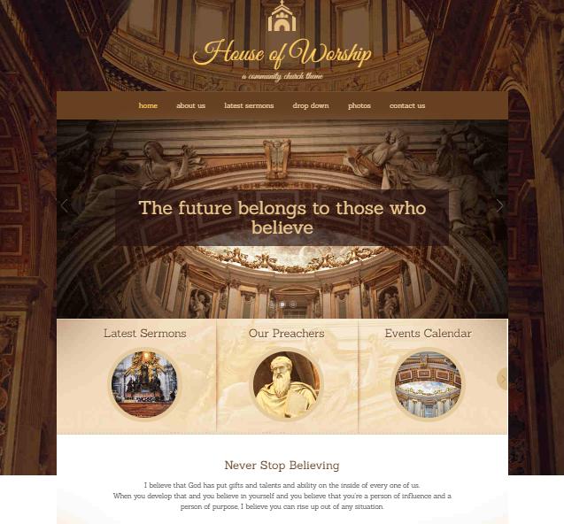 House of Worship WordPress Theme