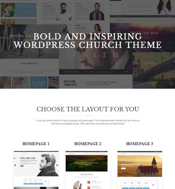 Ichthys Church WordPress Theme