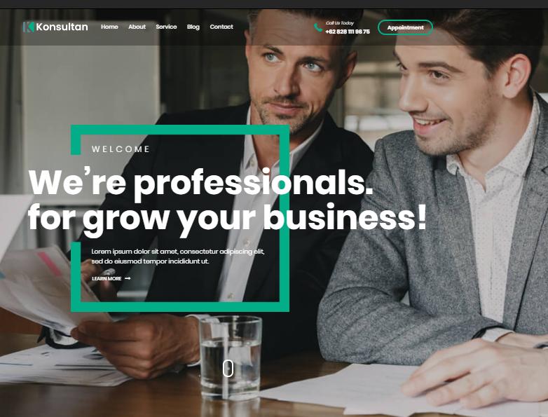 Top 20 Business WordPress Themes