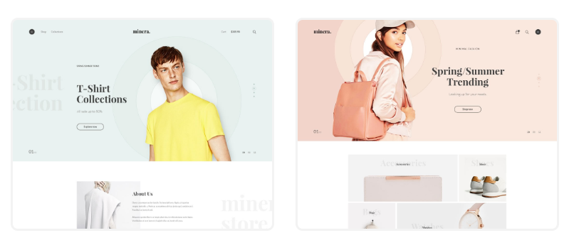 Minera WordPress Theme