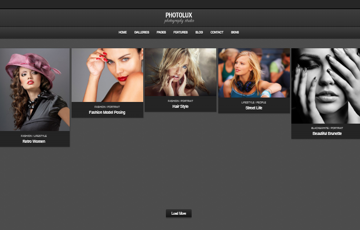 Photolux WordPress Theme