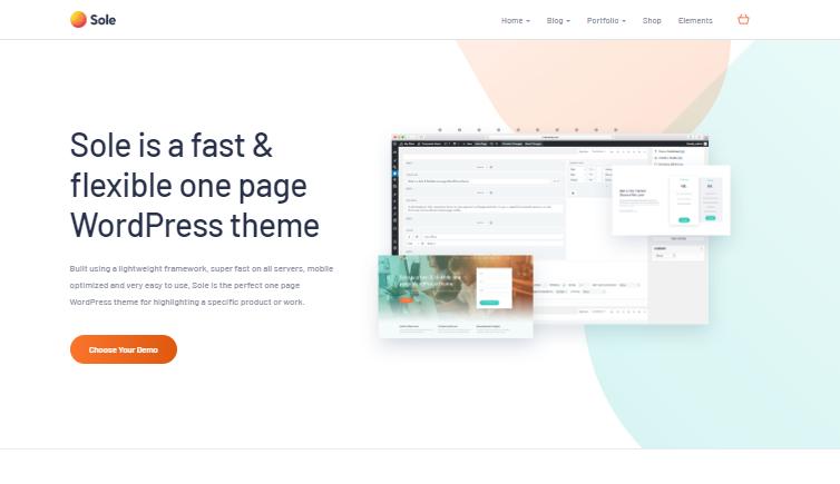 Sole WordPress Theme