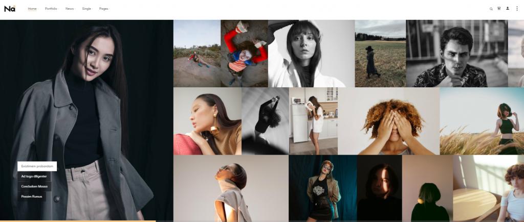 TheNa Photography WordPress Theme