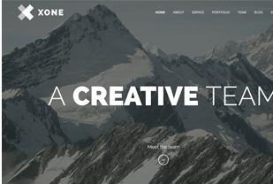 Xone One Page WordPress Theme